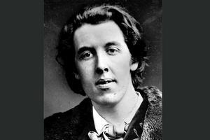 Oscar Wilde, (1854–1900), författare, London: