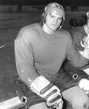 Kalle Alander på en 1970-talsbild på klassiska Fyrvalla. Foto: ÖP/Sten Eklund