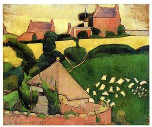 Ett av få konstverk av internationella konstnärer i VFK:s samling. Fransmannen Emile Bernard var en viktig influens för Ivan Aguéli.