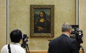 Mona Lisa kan ge sig ut på de franska vägarna – om kulturministern får som hon vill.Arkivbild: Remy de la Mauviniere/AP/TT