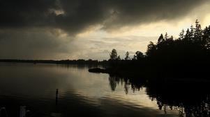En fredag kväll ute på Värö. Foto: Ann-Catrin Enmark