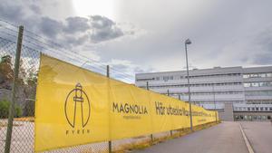 Magnolia visar tydligt var projektet planeras.