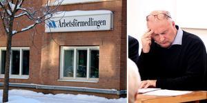 Ånges kommunalråd Sten-Ove Danielsson är besviken efter beskedet att Arbetsförmedlingen avvecklar sitt kontor i Ånge.