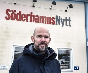 Magnus Söderlund tog över Söderhamnsnytt 1995