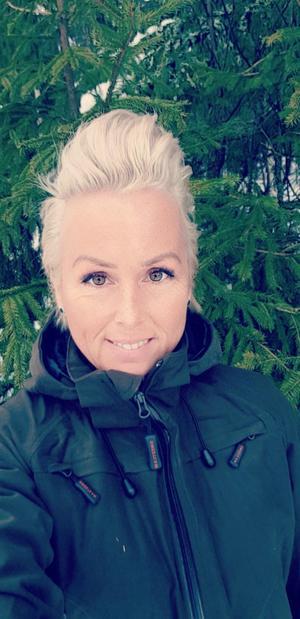 Erika Sörengård, partiordförande för Landsbygdspartiet.