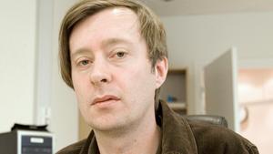 Magnus Gustafson när han jobbade på VLT:s Hallstaredaktion. Arkivfoto: Jackie Meh