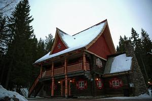 Tomtens hus.