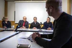 Under onsdagen höll Region Dalarna en presskonferens i Falun.