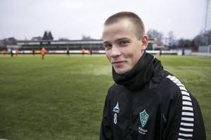 Daniel Björkman från tiden i IK Brage.