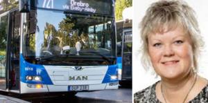 Nina Höijer berättar varför busstaxan höjs så kraftigt.