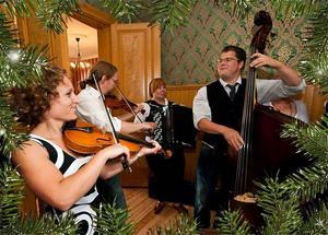 Så här kan det se ut när julen firas in på Bergs Kvarnkafé. Bild: Pressbild