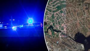 En person ska ha knivskurits inne i centrala Smedjebacken natten mellan fredag och lördag.