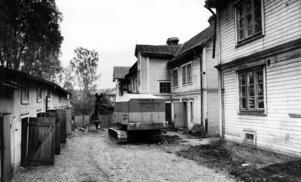 Rådhusgatan 11-17. 1972. Där byggdes sedan Socialhögskolan. Numera huserar diverse företag här och även utbildningslokaler för Jämtlands gymnasium.