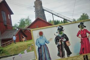 Besökarna kan själva känna hur det är att vara några av karaktärerna: Anna, Luffaren Fargo och Mira-Maja.