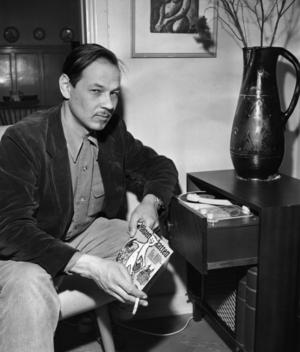 Lennart Hellsing 1956. Foto: Svenska Dagbladet / SCANPIX