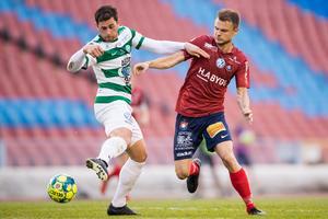 Carlos Gaete Moggia har inte spelat sedan VSK slog Örgryte på Ullevi, för snart en månad sedan. Foto: Michael Erichsen / BILDBYRÅN