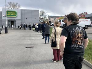 Under coronapandemin har omställningen till digital försäljning underlättat vardagen, skriver Anna De Geer. Foto: Adam Ihse / TT.