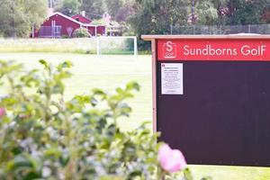 Sundborns GoIF är en av de föreningar som fått stöd av Bjursås Sparbank. Foto: Norkay
