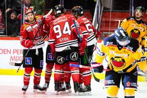 Arenan kokade vid Shane Harpers 2–2-mål. Bild: Johan Bernström/Bildbyrån