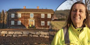 Birgitta Hallin Olsson tycker det känns som att hembygdsgården alltid stått här.