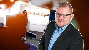 Anders Ingvarsson, ansvarig utgivare för helahälsingland.se och bandypuls.se.