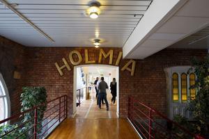 Så här ser det ut i Gävle kommuns nya välfärdskontor på Alderholmen.