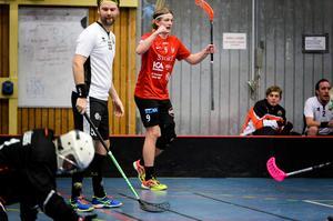Hampus Strömberg – ett av elva namn som är klara för spel med Timrå IBC i innebandyettan.
