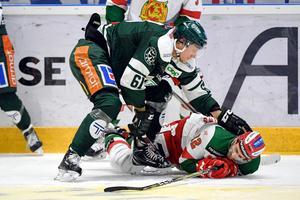 Mora gick vinnande ur kampen mot Johan Rynos Färjestad.