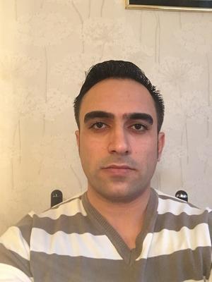 Ali Al Matar har varit bussförare i ett år och arbetar för Siljan Buss.