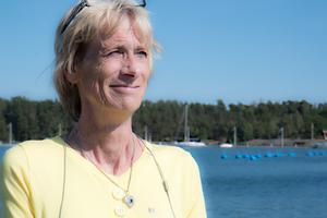 Maria Gard Günster (C) är ordförande för miljö- och samhällsbyggnadsnämnden i Nynäshamn.
