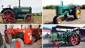 Fyra av de hetaste traktorobjekten. Se fler nedan.Bild: Bilweb Auctions