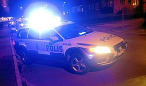 Polisen utreder en misshandel i Tibro. OBS: Genrebild.