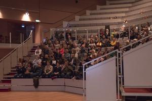 Under fredagen hade kommunens enhetschefer studiedag på Kulturhuset för att lära sig mer om digitaliseringen.