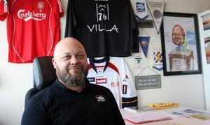 Villa Lidköpings klubbchef Jonas