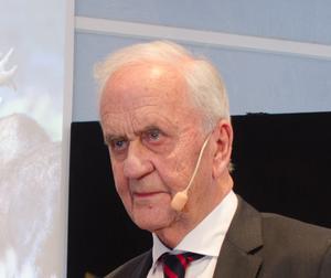 Nils-Erik Johansson har varit styrelseordförande för företaget Älska Lokalt AB. Foto: Kenneth Westerlund