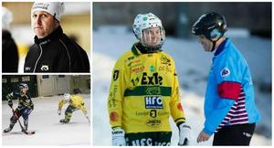 Patrik Larsson (till vänster) och Jonatan Sundberg (till höger).