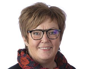 Monica Stolpe Nordin (C), ordförande i byggnadsnämnden, säger att Västerås stad behöver mer mark för industrins ändamål. Foto: Per Groth