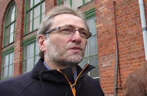 Anders Strandberg, projektledare vid Bollnäs Bandy.  Bild: Ola Svärdhagen/ Arkiv