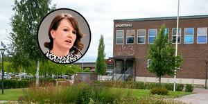 Ulrika Liljeberg (C) är inte orolig för att sporthallsbygget inte blir av.