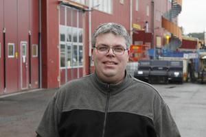 Stefan Teurnberg, lagledare för Rospiggarnas isracinglag.