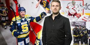 Får SSK-centern Christopher Liljewall några nya lagkamrater efter påsk? Foto: Bildbyrån