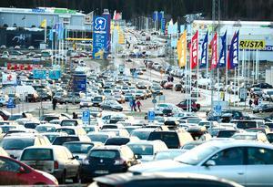 Foto: Håkan HumlaArkivbild: Birsta citys parkering.