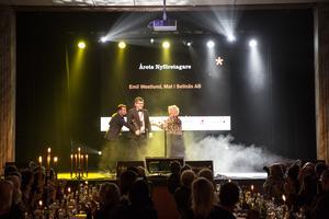 Emil Westlund, som driver Mat i Sellnäs AB, tog hem priset som årets nyföretagare på Stjärngalan i januari i år.