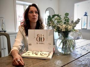 Sofia Björk har  just nu 12 återförsäljare och var på väg att få ännu fler då coronapandemin slog till.