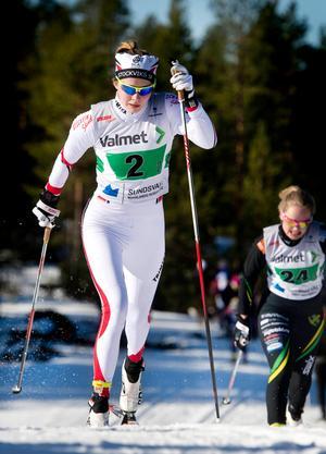 Foto: Mårten Englin/ArkivAlicia Persson slutade på 22 plats i damernas masstart. Bilen är tagen under en tävling tidigare i skidåkarens karriär.