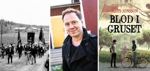 Mats Jonsson jobbar som frilansare sedan snart två år. Nu är han aktuell med sin första roman, ungdomsboken