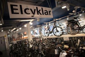 Är skattestöd till elcyklar viktigare än att få pengar till välfärden?Foto: TT