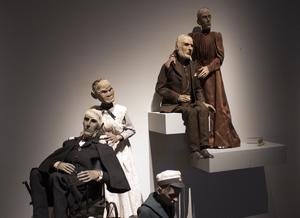 Arne Högsander skapade dockorna till Roman Paskas uppmärksammade uppsättning av August Strindbergs