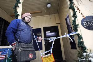 Jimmy Nordin hade en period en skivbutik i Berggrenska gården. 2012 hade de tyvärr inbrott.