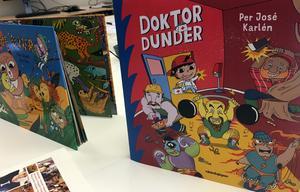 """Nästa år kommer boken """"Doktor Dunder"""", där det visar sig att det finns mer bakom stereotypen än vad som syns på ytan."""